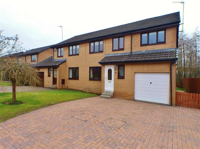 5 Bedrooms Semi Detached House for sale in MacNeill Drive, Stewartfield, EAST KILBRIDE