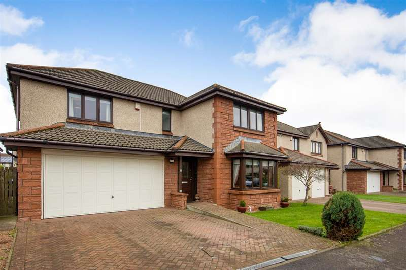 5 Bedrooms Detached House for sale in Crofthead Street, New Carron, Falkirk