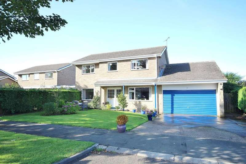 4 Bedrooms Detached House for sale in Lealands, Lesbury, Alnwick, Northumberland NE66