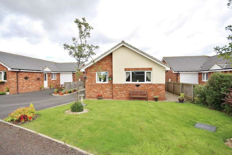 3 Bedrooms Detached Bungalow for sale in 4 Springfield View, Christon Bank, Alnwick, Northumberland NE66
