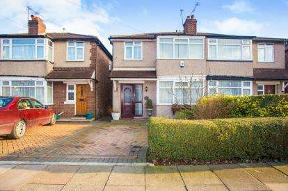 3 Bedrooms Semi Detached House for sale in Wood End Gardens, Northolt, Middlesex, England