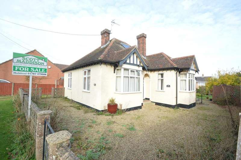 3 Bedrooms Detached Bungalow for sale in Recreation Ground, Sible Hedingham, Halstead CO9