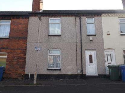 3 Bedrooms Terraced House for sale in Newcastle Street, Mansfield, Nottinghamshire