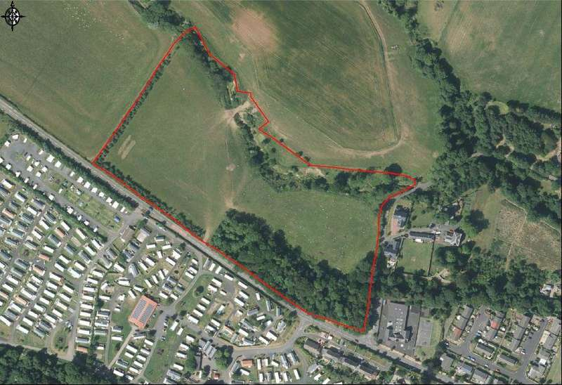 Plot Commercial for sale in Bogan Green, Coldingham, Berwickshire TD14