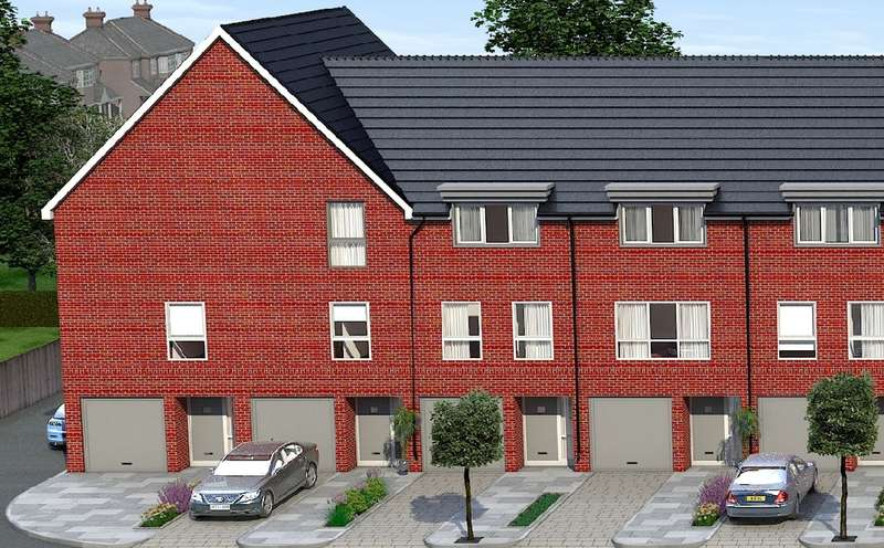 3 Bedrooms Terraced House for sale in Plot 19 'Austin Mews', Austin Canons, Kempston, MK42