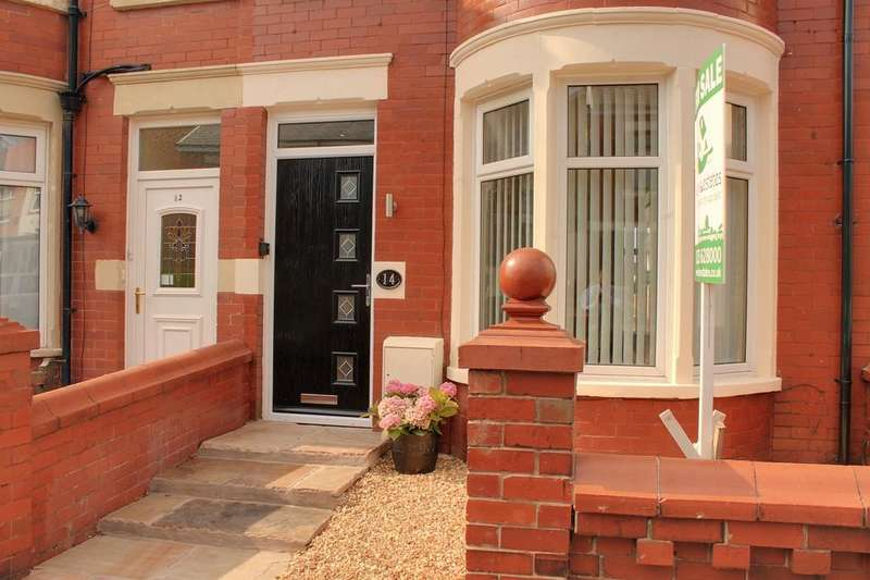 3 Bedrooms End Of Terrace House for sale in PINE AVENUE, BLACKPOOL FY1