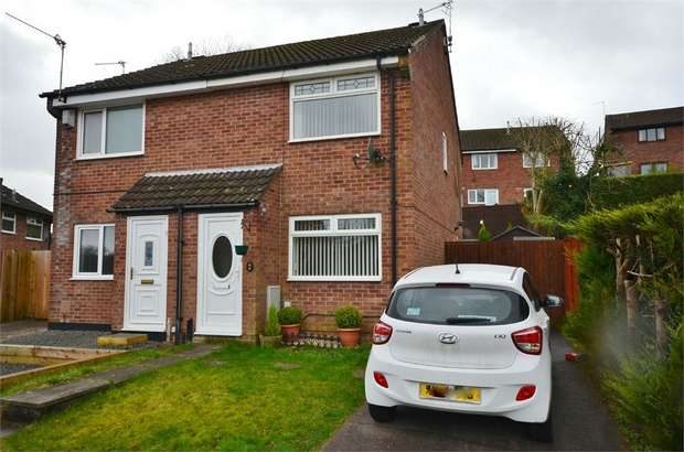 2 Bedrooms Semi Detached House for sale in Clos Cyncoed, CAERPHILLY