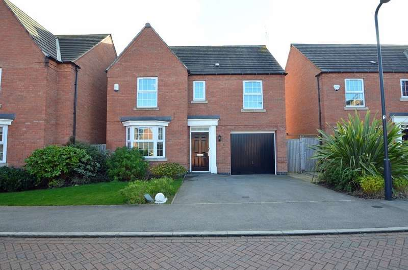 4 Bedrooms Detached House for sale in Smithhill Place, Coton Park, Rugby