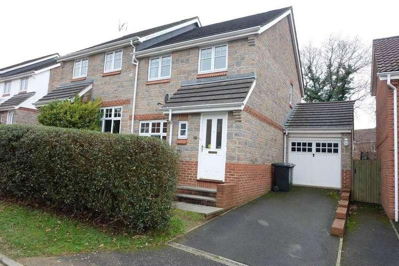3 Bedrooms Semi Detached House for sale in Cherry Arbour, Barnstaple