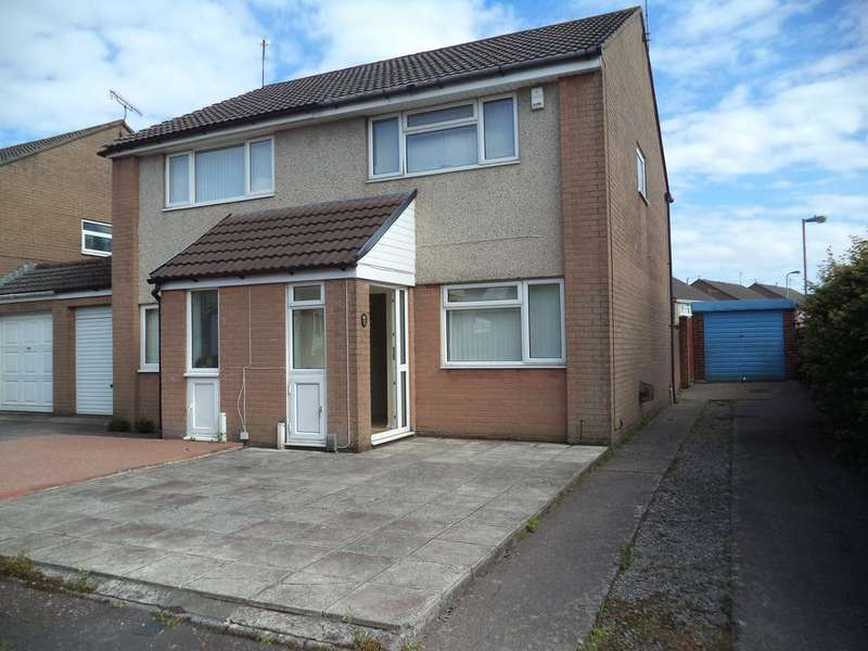 2 Bedrooms Semi Detached House for sale in Pritchard Close, Danescourt, Cardiff CF5