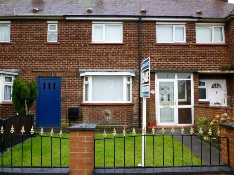 3 Bedrooms Terraced House for sale in Elm Drive, Crewe