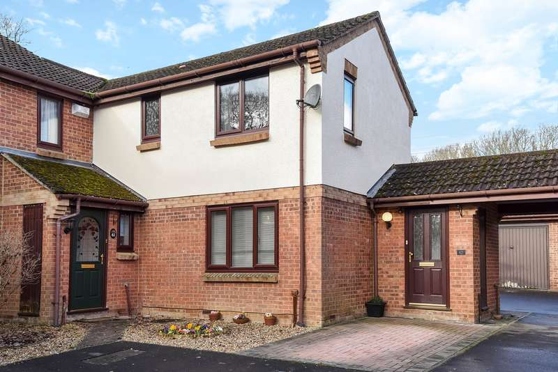 3 Bedrooms Semi Detached House for sale in Long Copse Chase, Chineham, Basingstoke, RG24