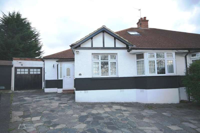 3 Bedrooms Semi Detached Bungalow for sale in Tudor Close, Kingsbury NW9