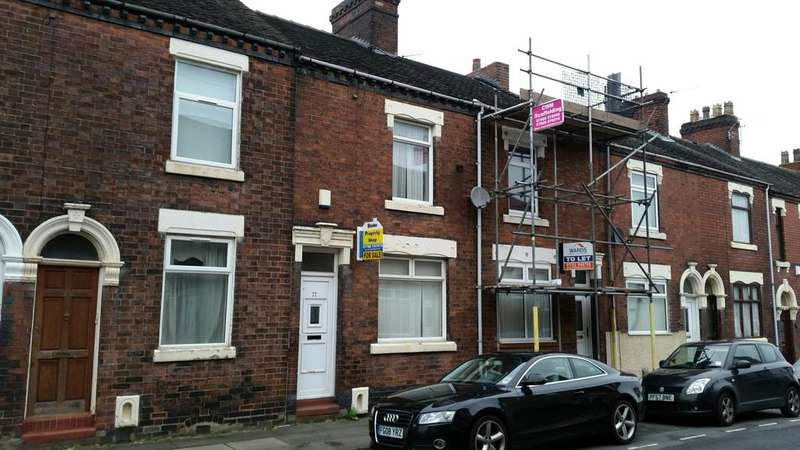 3 Bedrooms Terraced House for sale in Mayer Street, Hanley, Stoke on Trent ST1