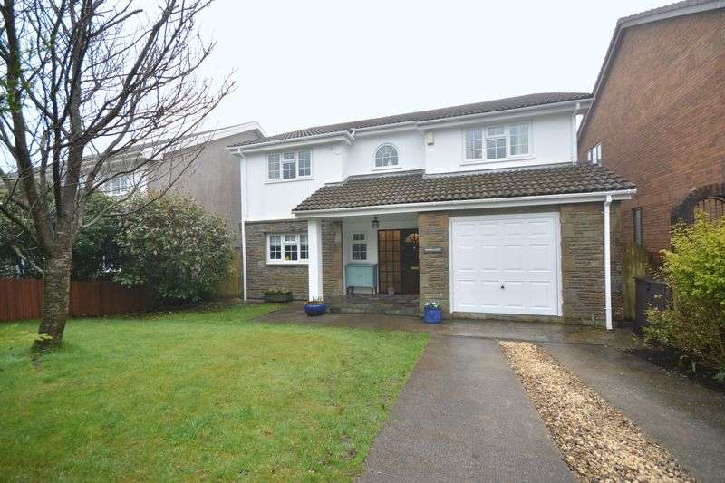 4 Bedrooms Detached House for sale in Woodlands, 5 Derllwyn Road, Bridgend