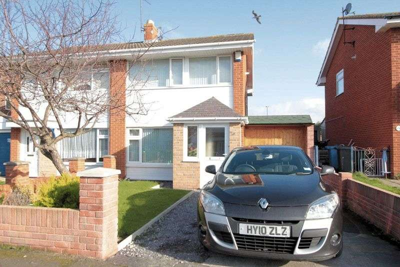 3 Bedrooms Semi Detached House for sale in Violet Grove, Rhyl