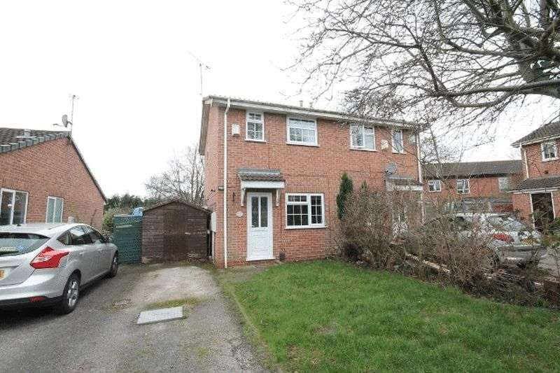 2 Bedrooms Semi Detached House for sale in Wolverley Grange, Derby
