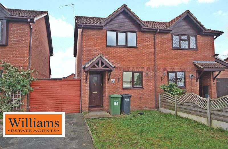 2 Bedrooms Semi Detached House for sale in The Pastures, Hereford