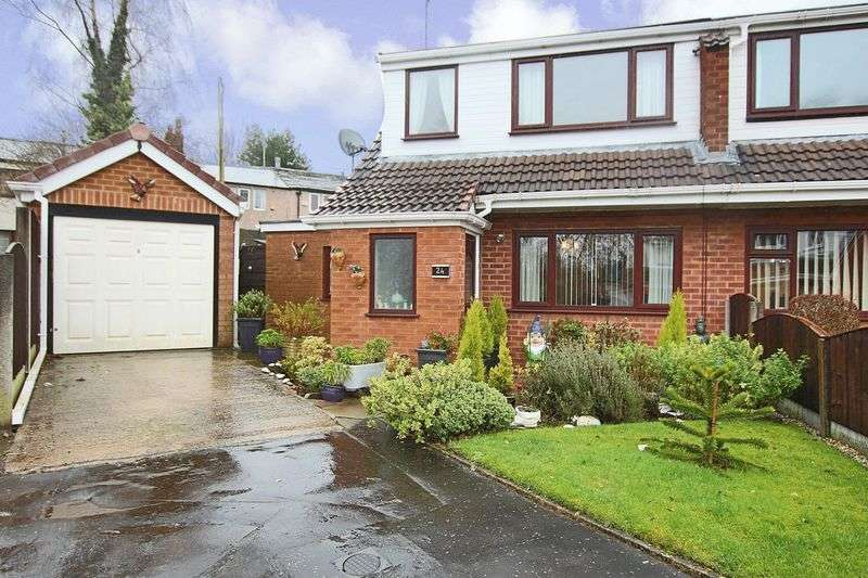2 Bedrooms Semi Detached House for sale in Bench Carr, Rochdale OL12 0QU