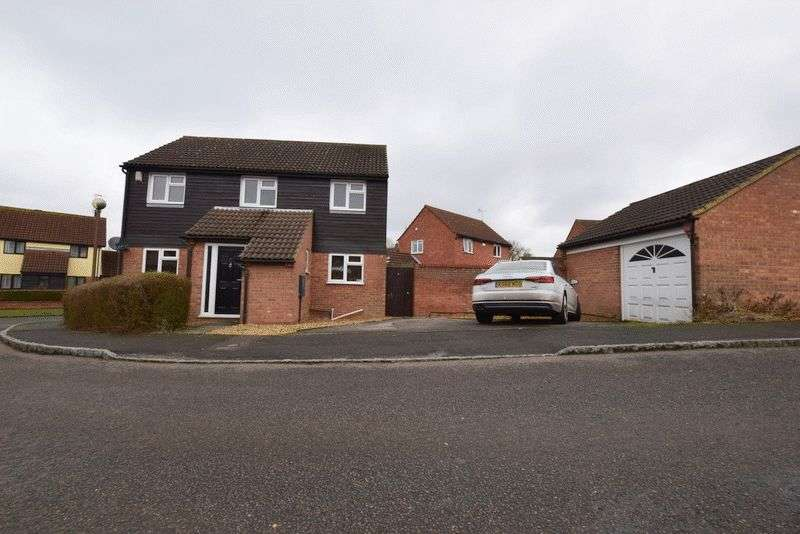 4 Bedrooms Detached House for sale in Bradbury Close, Bradwell, Milton Keynes