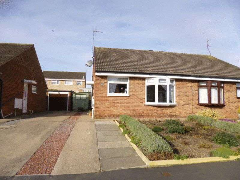 2 Bedrooms Semi Detached Bungalow for sale in Stirling Close, Bishop Auckland