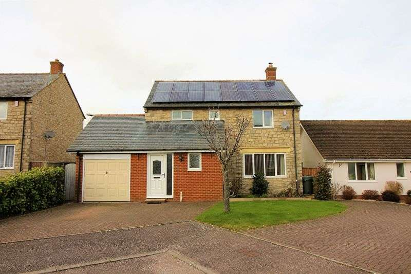 4 Bedrooms Detached House for sale in Staples Meadow, Tatworth