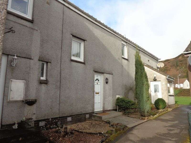 2 Bedrooms Terraced House for sale in 27 Broommpark East, Menstrie