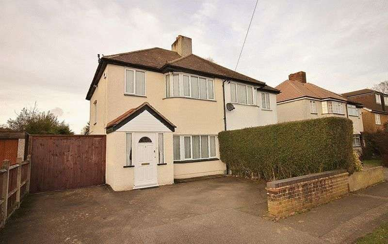 3 Bedrooms Semi Detached House for sale in Trenham Drive, Warlingham