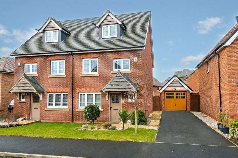 4 Bedrooms Semi Detached House for sale in Buckinghamshire Place, Buckshaw Village