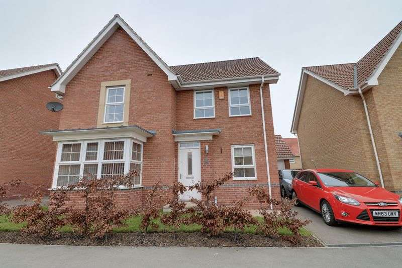 4 Bedrooms Detached House for sale in Dunlin Drive, Scunthorpe