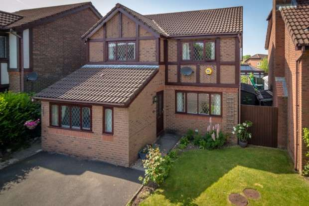 4 Bedrooms Detached House for sale in Heatherway, Fulwood, Preston, PR2