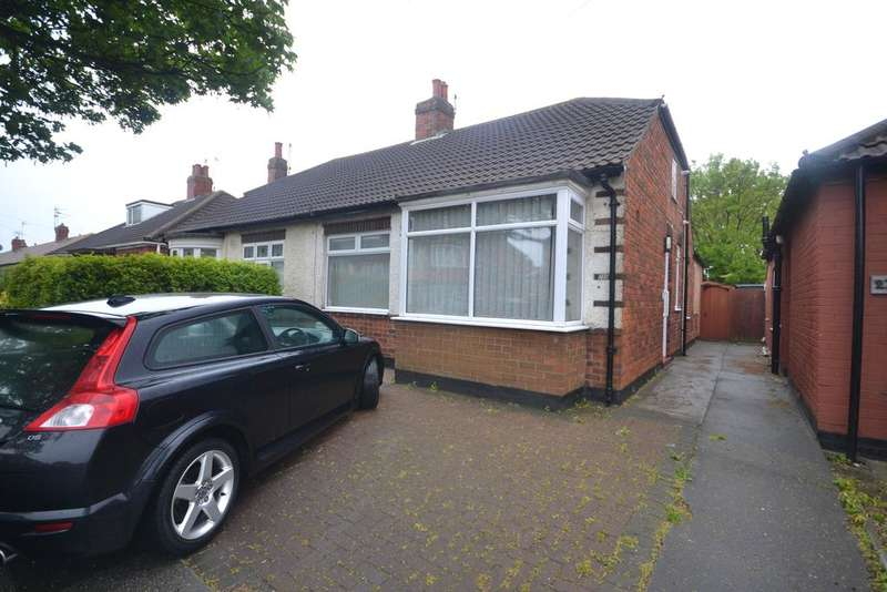 2 Bedrooms Semi Detached Bungalow for sale in Laburnum Road, Redcar TS10