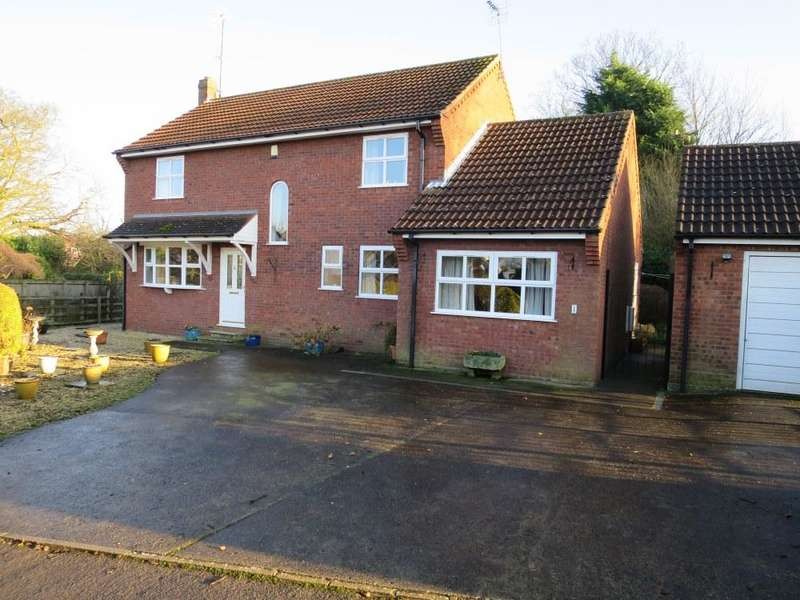 4 Bedrooms Detached House for sale in 1 Folliott Ward Close, Malton YO17 7NN