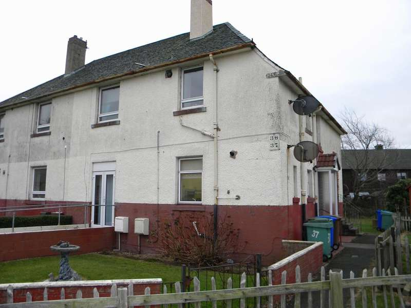 2 Bedrooms Ground Flat for sale in Wellington Street, Prestwick KA9