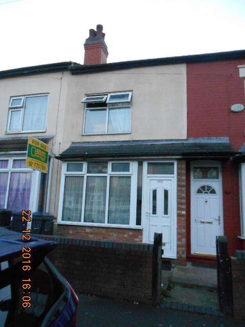 3 Bedrooms Terraced House for sale in Third Avenue, Bordesley Green, Birmingham B9 5RN