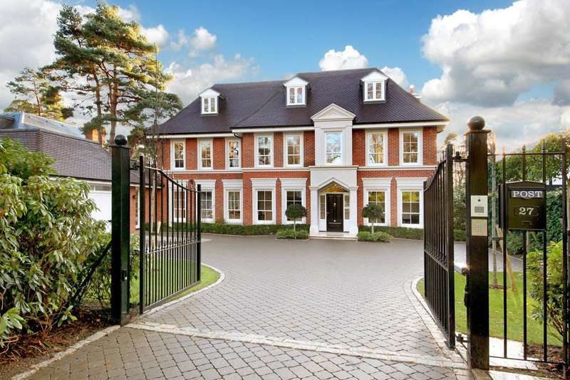 6 Bedrooms Detached House for sale in Abbots Drive, Wentworth Estate, Virginia Water GU25