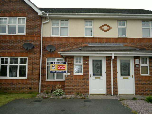 2 Bedrooms Terraced House for sale in Watermeet Grove, Etruria, Hanley, Stoke-on-Trent, Staffordshire ST1 5GA.