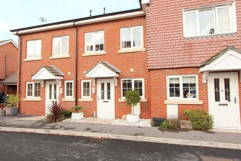 2 Bedrooms Terraced House for sale in Hindmarch Crescent, Hedge End SO30