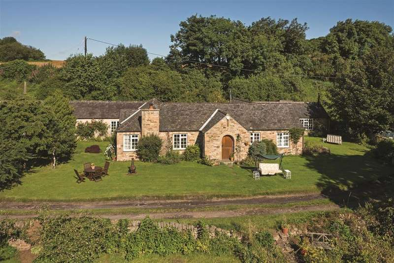 4 Bedrooms Detached House for sale in The Millers Cottage, Whitley Mill, Hexham, Northumberland NE46