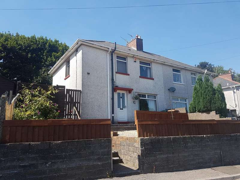 3 Bedrooms Semi Detached House for sale in Bryngolau Terrace, Pontllanfraith, Blackwood NP12