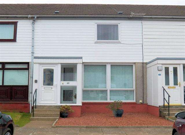2 Bedrooms Terraced House for sale in 25 Castleacres, Campbeltown, PA28 6SJ