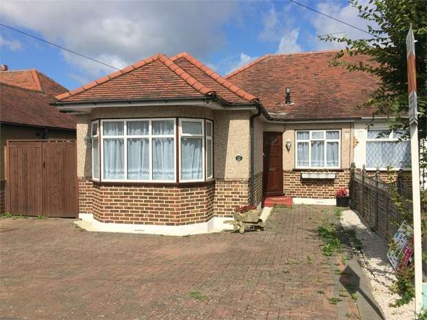 3 Bedrooms Semi Detached Bungalow for sale in Percival Way, Ewell