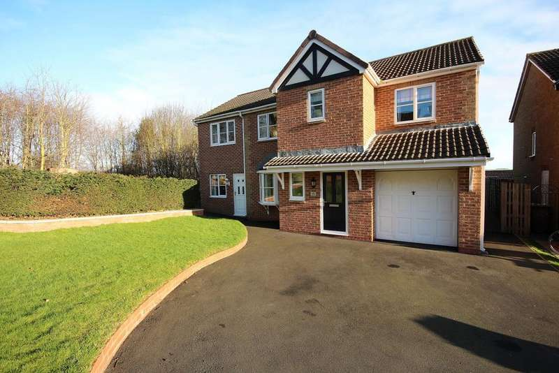 5 Bedrooms Detached House for sale in 45 Allerburn Lea, Alnwick, Northumberland NE66