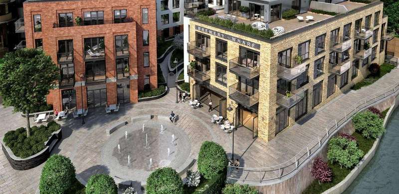 1 Bedroom Flat for sale in Brewery Lane, Twickenham, London, TW1 1AA