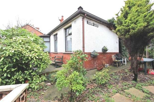 2 Bedrooms Semi Detached Bungalow for sale in Barclay Avenue, Blackpool, Lancashire