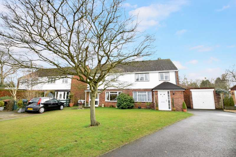 3 Bedrooms Semi Detached House for sale in Keppel Spur, Old Windsor, SL4