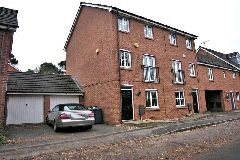 4 Bedrooms Town House for sale in PIONEER WAY, GLADE WALK, STAFFORD ST17