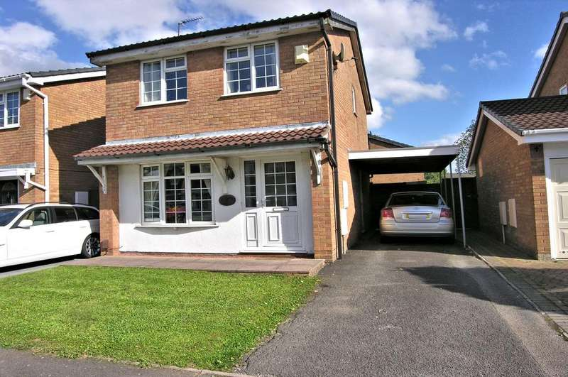 3 Bedrooms Detached House for sale in ORWELL DRIVE, WESTERN DOWNS, STAFFORD ST17