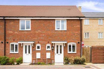 2 Bedrooms End Of Terrace House for sale in Crocus Close, Eynesbury, St. Neots, Cambridgeshire