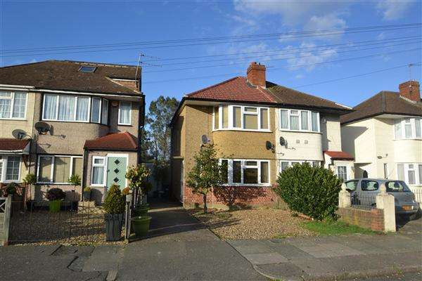 2 Bedrooms Semi Detached House for sale in Northumberland Crescent, Bedfont